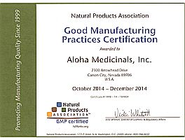 Good Manufacturing Practices Certification